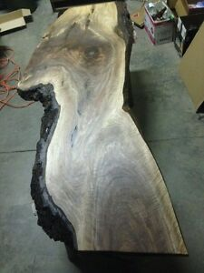 Black Walnut Live Edge Desk /Coffee Table Completed Top Kitchener / Waterloo Kitchener Area image 1