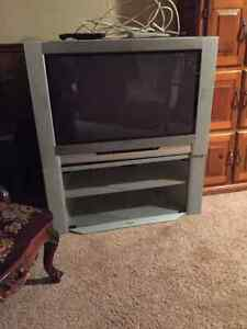 Toshiba Hi-Def TV and Stand