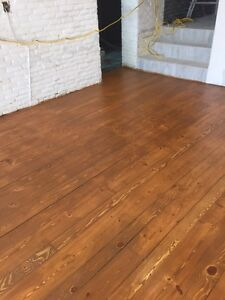 Sablage de plancher 1.25 PC sanding floor 1.25 S C F starting