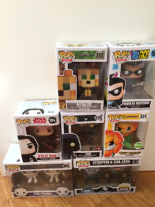 Funko Pops for sale and trade