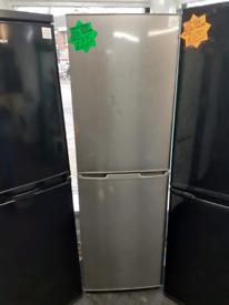 Silver kenwood fridge freezer