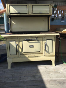 Beach antique cookstove