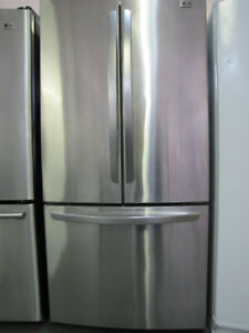 Réfrigérateur LG à 3 portes française Garantie 1 AN