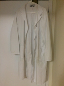 Lab Coat and Lab Safety Goggles