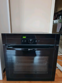 Neff multifunction single electric oven built-in black 60cm