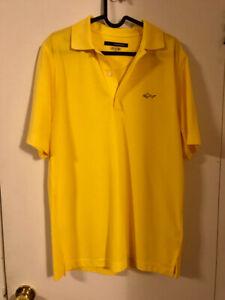 New mens polo shirt fits medium size