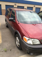2002 PONTIAC MONTANA MINIVAN, ...well maintained van........