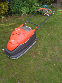 Flymo vision compact 350 rotary mower.