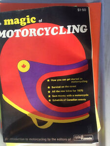 1975 Magic of Motorcycling ALL BIKE REVIEW Magazine