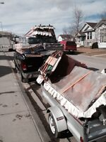 Junk removal / garbage cleanup services, ( prices as low as $50