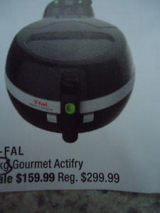 T-fal Gourmet Actifry Air Fryer, like new