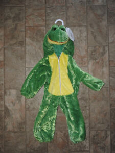 NEW WITH TAG frog costume (12-18 mos) for only $6