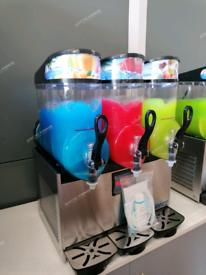 Slush Machine New Triple Bowl Granita Slushy Iced Drinks Frozen