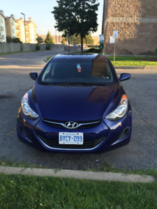 Hyundai Elantra 2012 in great condition