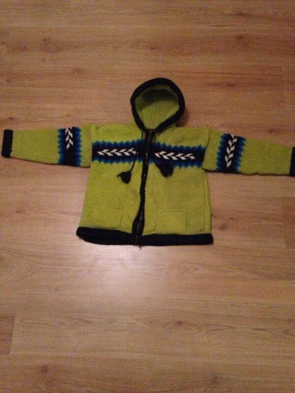 Unisex ECUADOR woollen jacket £3