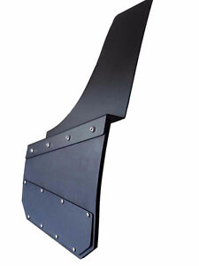 Universal Black Mud Flaps- powder coated marine aluminum.