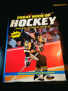 Great Book of hockey by Stanley Fishler (1991, hardcover)