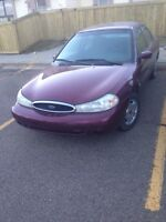 1999 ford contour runs and drives great.