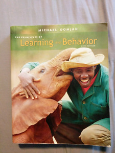 The Principles of Learning and Behaviour