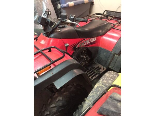 Used 2002 Arctic Cat 4x4 Manual