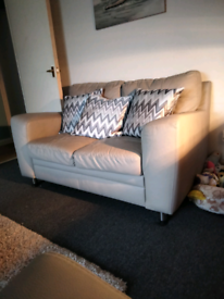 Two seaters sofas for sale leather