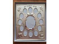 John Lewis Babies first year photo frame