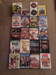 Selling VHS Movies and various DVDs