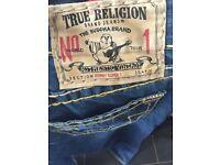 True religion jeans size 38