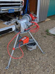 Ridgid 300 tri stand threading machine new