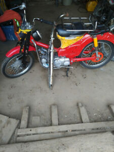 1966 to 1969 Honda cat 90 trail parts
