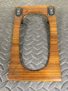 1996-97 Cadillac STS & Eldorado Factory Wood Shifter Plate $30