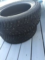 Tyres for sale with spikes