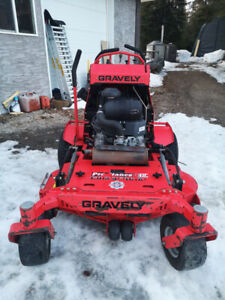 """2013 Gravely prostance 48"""" stand on mower"""