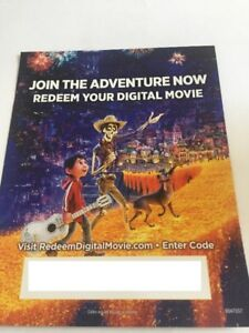 Digital HD Codes -- Coco - Fast Furious 6 7 Thor Ragnarok iTunes