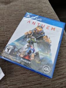 Anthem PS4 $30 Brand New