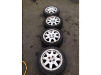 "Clio Williams alloy wheels 15"""