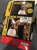 Wagner Control Paint Sprayer Indoor Outdoor Hvlp
