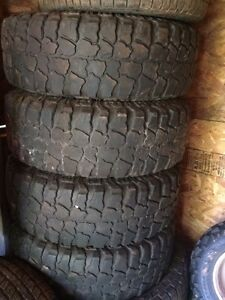31x10.50x15 dick cepek mud country's on 6 bolt Toyota rims