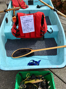 8ft flat bottomed fishing boat