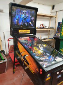 Sega lost in space pinball machine
