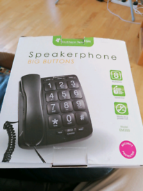 Southern telecom speaker phone, big buttons, New In Original Packagin
