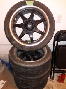 Rims and Summer tires