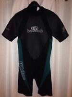 Wetsuit, Whites shorty, men's small, 3mm