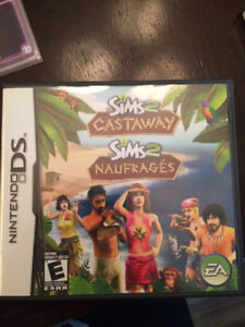 Nitendo DS: The Sims 2 Castaway