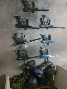 Paintball and accessories