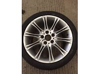 "Mv2 alloys 18"" Genuine OEM BMW"