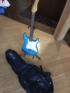 Electric Guitar, Case and Stand