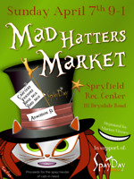 MAD HATTERS MARKET in Support of Spay Day HRM