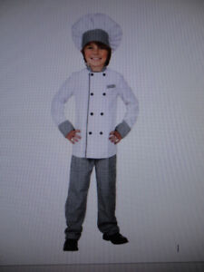 Children's chef Costume, size large. Excellent Condition