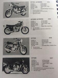 74 75 76 77 Suzuki GT750 Kettle Right Sidecover Regina Regina Area image 5